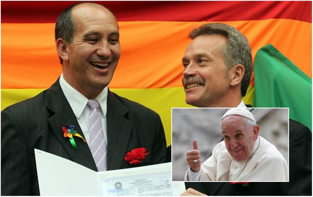 Papież wysłał gejom list pochwalny.